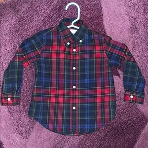 Ralph Lauren boys collard shirt